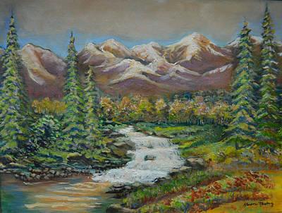 Rocky Mountans Original by Karen Norberg