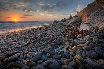 Rocky Beach Photograph - Rocky North Ponto by Peter Tellone