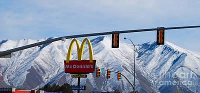 Photograph - Rocky Mountain Burgers by Mark Spearman