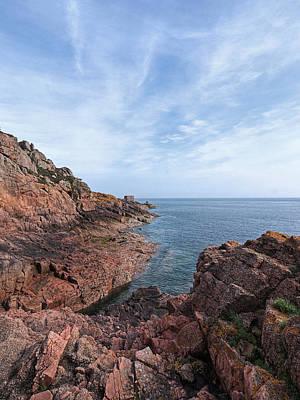 Rocky Ocean Inlet - Jersey Art Print
