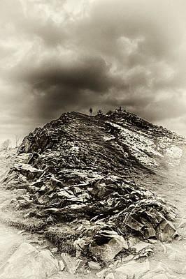 Photograph - Rocky Pathway V3 by Lenny Carter