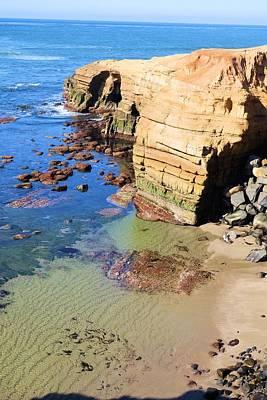 Rocky Point Sunset Cliffs Art Print
