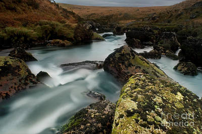 Photograph - Rocky Rapids East Dart River 1021 by Colin Munro