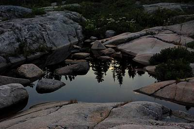 Photograph - Rocky Reflections 01 by Carol Kay