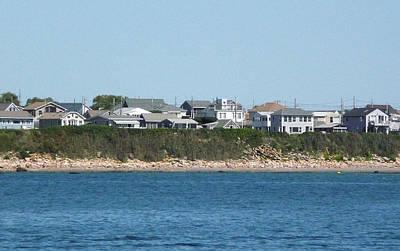 Photograph - Rocky Rhode Island Coastline by Margie Avellino