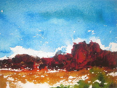 Painting - Rocky Ridge by Anne Duke