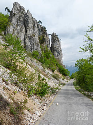 Photograph - Rocky Road - Montenegro by Phil Banks