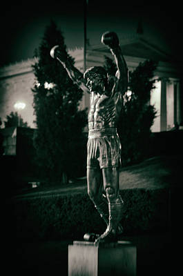 Rocky Balboa Photograph - Rocky by Scott Wyatt