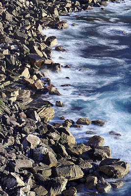 Photograph - Rocky Sea Shore by RSRLive Arts