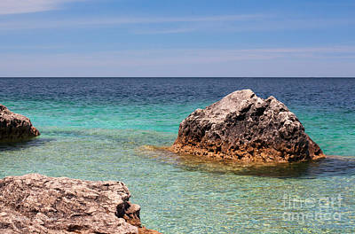 Photograph - Rocky Shoals Of Tobermory by Barbara McMahon