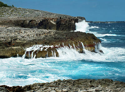 Photograph - Rocky Shore And Waves 1 by Duane McCullough