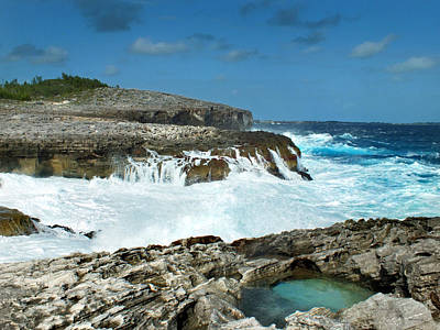 Photograph - Rocky Shore And Waves 3 by Duane McCullough