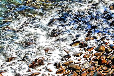 Photograph - Rocky Shore by Audreen Gieger