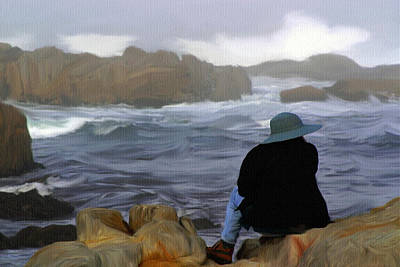 Painting - Rocky Shore by Dennis Buckman