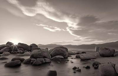 Photograph - Rocky Shore by Jonathan Nguyen
