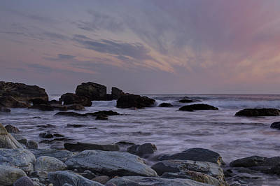 Photograph - Rocky Shore Of Sachuest by Andrew Pacheco