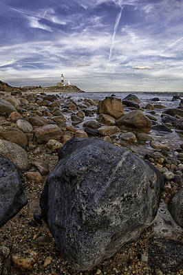 Photograph - Rocky Shore by Sara Hudock