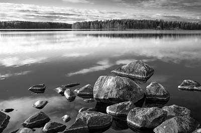 Photograph - Rocky Shore by Teemu Tretjakov
