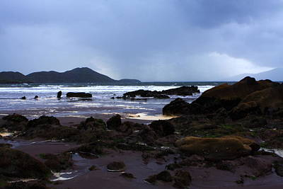 Irish Seascape Photograph - Rocky Shoreline by Aidan Moran