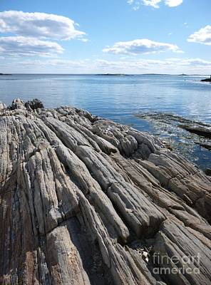 Photograph - Rocky Shores by Barbara Bardzik