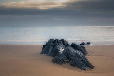 Tenby Photograph - Rocky Shores by Chris Fletcher