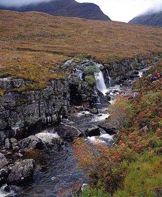 Torridon Wall Art - Photograph - Rocky Stream In Moorland by Andrew Brown/science Photo Library