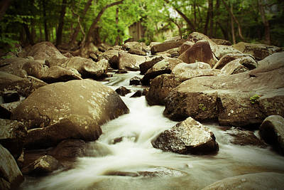 Rocky Stream Art Print by Michael Porchik