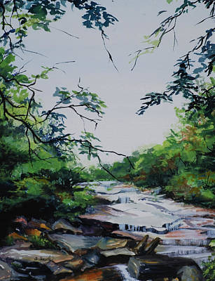 Painting - Rocky Stream by Sharon Sorrels