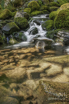 Photograph - Rocky Waterfall by Sharon Seaward