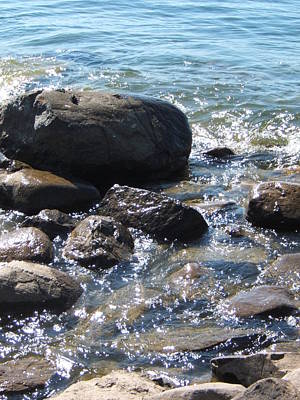 Photograph - Rocky Waters by Margaret McDermott