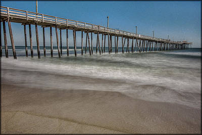 Photograph - Rodanthe Pier by Erika Fawcett