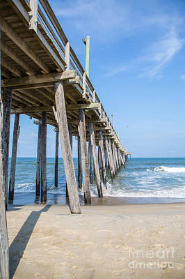 Photograph - Rodanthe Pier by Kay Pickens