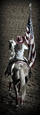 Palomino Photograph - Rodeo America by Stephen Stookey