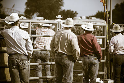 Catch Of The Day - Rodeo Cowboys by Steven Bateson