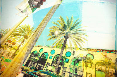 Beverly Hills Digital Art - Rodeo Drive by Susan Stone