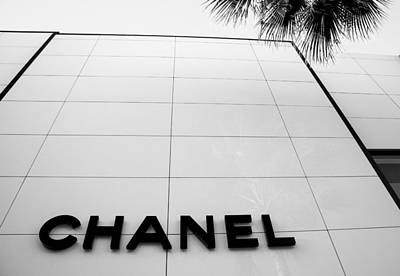 Chanel Wall Art - Photograph - Rodeo Drive by William  Carson Jr