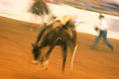 Photograph - Rodeo by Paulette Maffucci