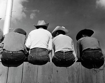 Gallup Photograph - Rodeo Spectators by American Philosophical Society