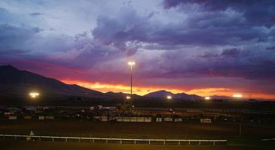 Photograph - Rodeo Sunset by Angi Parks