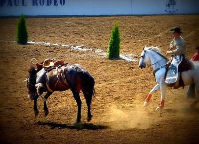 Photograph - Rodeo Time Still On by Susan Garren