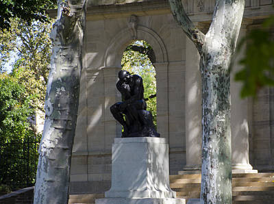 Benjamin Franklin Parkway Digital Art - Rodin Museum - Philadelphia by Bill Cannon
