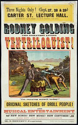Rodney Photograph - Rodney Golding by British Library