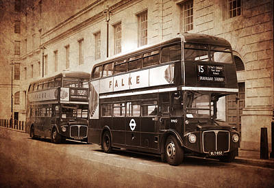 Bus Photograph - Rodney The Routemaster by Mark Rogan
