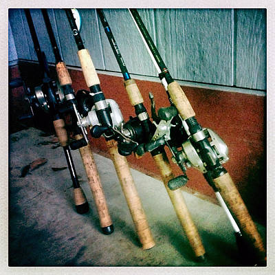Photograph - Rods And Reels by Max Mullins