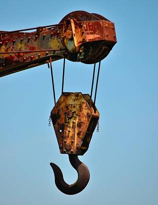 Photograph - Roebling Factory Crane by Steven Richman