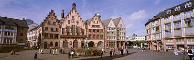 Roemer Square, Frankfurt, Germany Art Print by Panoramic Images
