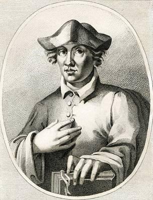 Roger Bacon, English Natural Philosopher Art Print