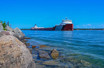 Sault Ste Marie Photograph - Roger Blough At Mission Point by Gales Of November