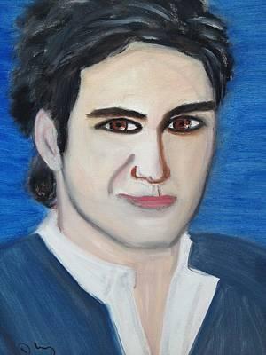 Roger Federer Original by Danielle Landry