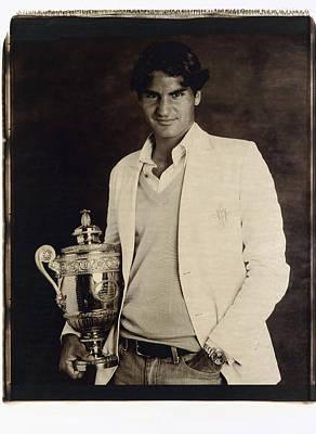 Roger Federer Photograph - Roger Federer by Zenon Texeira